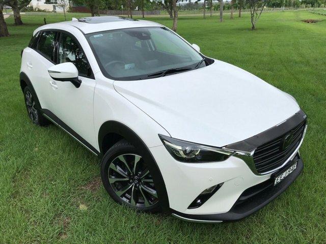 Used Mazda CX-3 DK4W7A Akari SKYACTIV-Drive i-ACTIV AWD, 2018 Mazda CX-3 DK4W7A Akari SKYACTIV-Drive i-ACTIV AWD White 6 Speed Sports Automatic Wagon