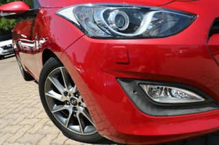 2014 Hyundai i30 GD MY14 SR Red 6 Speed Automatic Hatchback.