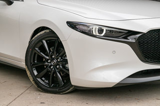 2019 Mazda 3 BP2HLA G25 SKYACTIV-Drive Astina Snowflake White Pearl 6 Speed Sports Automatic.