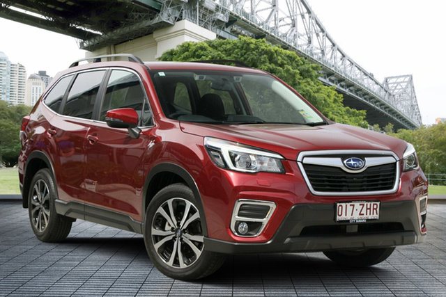 Demo Subaru Forester S5 MY20 2.5i Premium CVT AWD, 2019 Subaru Forester S5 MY20 2.5i Premium CVT AWD Crimson Red 7 Speed Constant Variable Wagon
