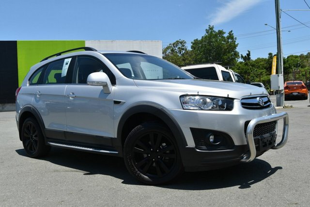 Used Holden Captiva CG MY14 7 LT (AWD), 2014 Holden Captiva CG MY14 7 LT (AWD) Silver 6 Speed Automatic Wagon