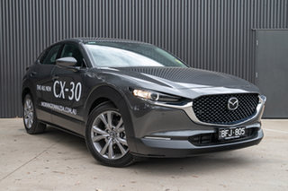 2019 Mazda CX-30 DM2WLA G25 SKYACTIV-Drive Touring Machine Grey 6 Speed Sports Automatic Wagon.