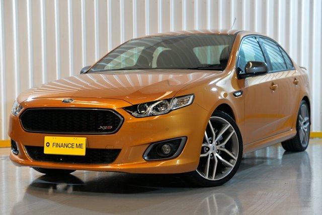 Used Ford Falcon FG X XR6 Turbo, 2015 Ford Falcon FG X XR6 Turbo Orange 6 Speed Sports Automatic Sedan