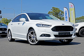 2018 Ford Mondeo MD 2018.25MY Titanium PwrShift White 6 Speed Sports Automatic Dual Clutch Hatchback.