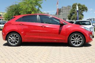 2014 Hyundai i30 GD MY14 SR Red 6 Speed Automatic Hatchback