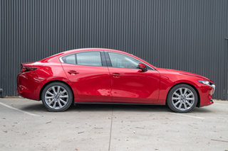 2019 Mazda 3 BP2S7A G20 SKYACTIV-Drive Touring Soul Red Crystal 6 Speed Sports Automatic Sedan.