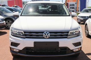 2019 Volkswagen Tiguan 5N MY20 132TSI DSG 4MOTION Comfortline White 7 Speed.