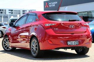 2014 Hyundai i30 GD MY14 SR Red 6 Speed Automatic Hatchback.