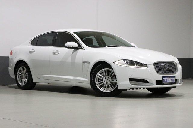 Used Jaguar XF MY13 2.2D Luxury, 2012 Jaguar XF MY13 2.2D Luxury White 8 Speed Automatic Sedan