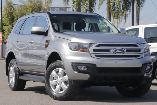 Used Ford Everest UA Ambiente 4WD, 2017 Ford Everest UA Ambiente 4WD Silver 6 Speed Sports Automatic Wagon