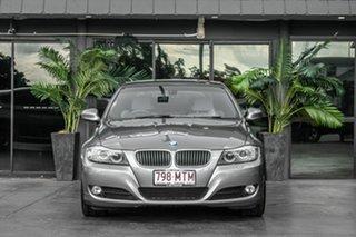 2009 BMW 3 Series E90 MY10 323i Steptronic Grey 6 Speed Sports Automatic Sedan.