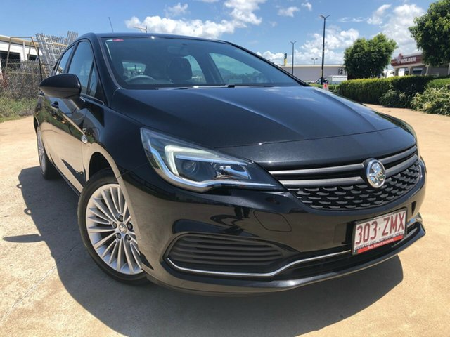 Used Holden Astra BK MY17 R, 2016 Holden Astra BK MY17 R Black 6 Speed Sports Automatic Hatchback