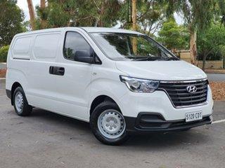 2019 Hyundai iLOAD TQ4 MY20 Creamy White 6 Speed Manual Van.