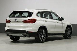 2018 BMW X1 F48 MY18 xDrive 25I White 8 Speed Automatic Wagon