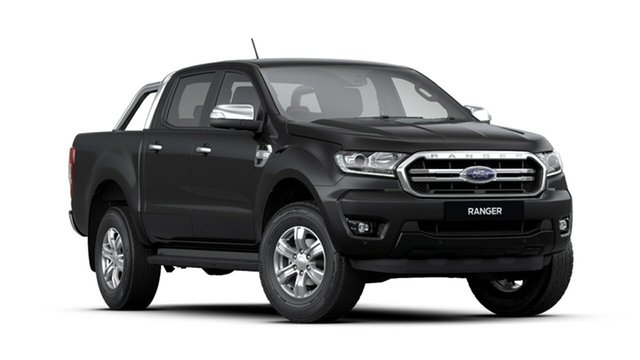 New Ford Ranger PX MkIII 2020.25MY XLT Pick-up Double Cab, 2019 Ford Ranger PX MkIII 2020.25MY XLT Pick-up Double Cab Shadow Black 6 Speed Sports Automatic
