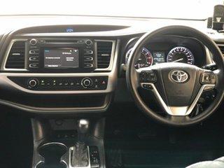 2014 Toyota Kluger GSU55R GX (4x4) White 6 Speed Automatic Wagon.