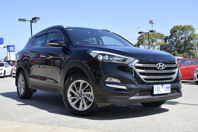 Used Hyundai Tucson TLE Elite AWD, 2015 Hyundai Tucson TLE Elite AWD Black/Grey 6 Speed Sports Automatic Wagon
