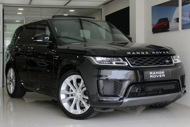New Land Rover Range Rover Sport L494 20MY SDV6 HSE, 2019 Land Rover Range Rover Sport L494 20MY SDV6 HSE Santorini Black 8 Speed Sports Automatic Wagon