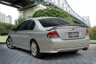 2007 Ford Falcon BF Mk II XR6 Silver 4 Speed Sports Automatic Sedan.