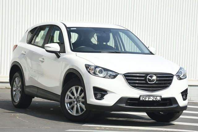Used Mazda CX-5 KE1032 Maxx SKYACTIV-Drive i-ACTIV AWD Sport, 2016 Mazda CX-5 KE1032 Maxx SKYACTIV-Drive i-ACTIV AWD Sport White 6 Speed Sports Automatic Wagon