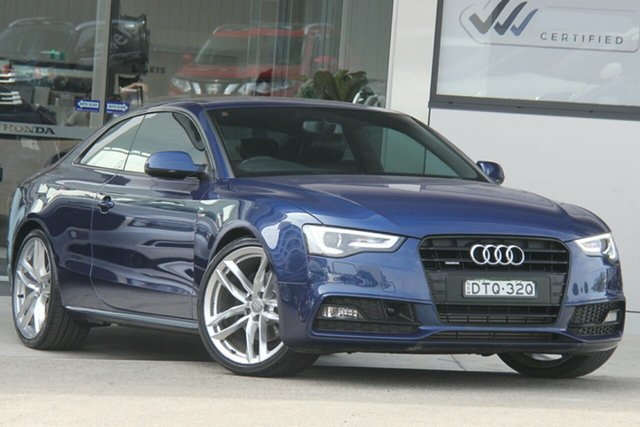 Used Audi A5 8T MY16 2.0 TFSI Quattro, 2015 Audi A5 8T MY16 2.0 TFSI Quattro Blue 7 Speed Auto Direct Shift Coupe