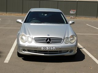 2003 Mercedes-Benz CLK-Class C209 CLK320 Elegance Silver 5 Speed Automatic Coupe.