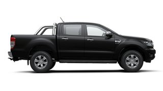 2019 Ford Ranger PX MkIII 2020.25MY XLT Pick-up Double Cab Shadow Black 6 Speed Sports Automatic.