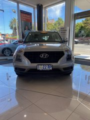 2019 Hyundai Venue QX MY20 Active Typhoon Silver 6 Speed Automatic Wagon.