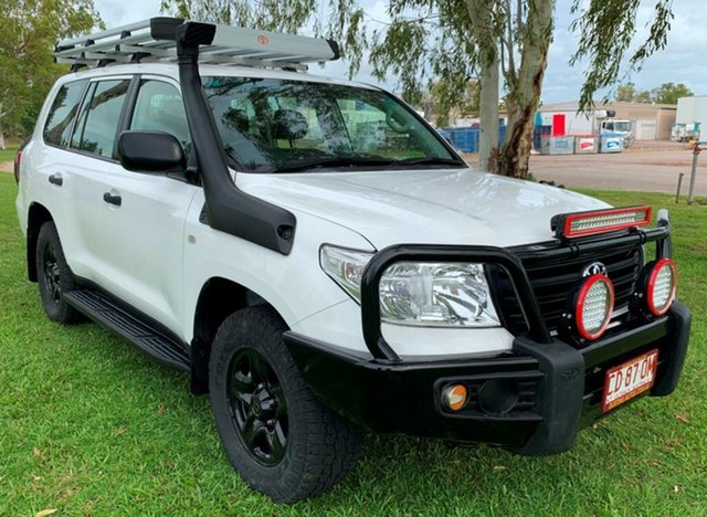 Used Toyota Landcruiser VDJ200R MY12 GX, 2012 Toyota Landcruiser VDJ200R MY12 GX White 6 Speed Sports Automatic Wagon