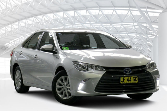 Used Toyota Camry AVV50R Altise, 2015 Toyota Camry AVV50R Altise Silver 1 Speed Constant Variable Sedan Hybrid