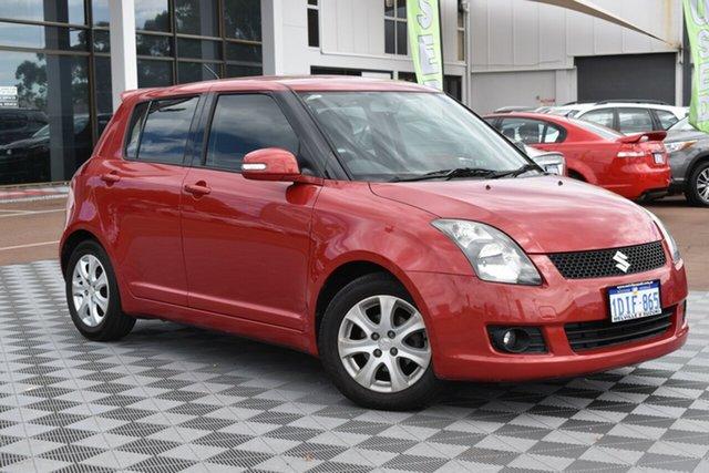 Used Suzuki Swift RS415 RE4, 2010 Suzuki Swift RS415 RE4 Red/Black 5 Speed Manual Hatchback