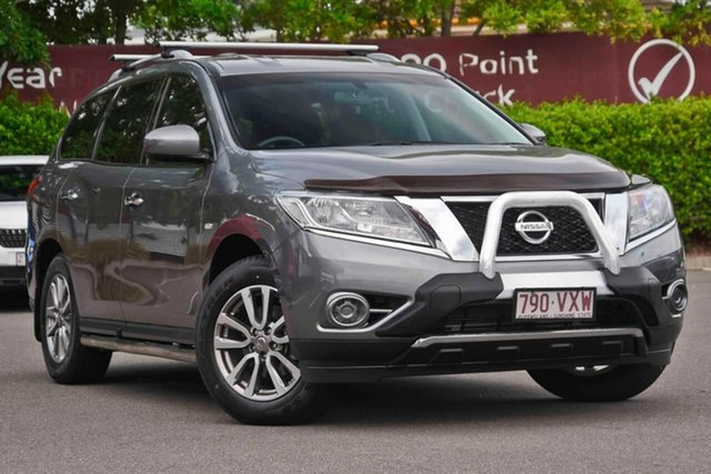Used Nissan Pathfinder R52 MY15 ST X-tronic 4WD N-TREK, 2015 Nissan Pathfinder R52 MY15 ST X-tronic 4WD N-TREK Grey 1 Speed Constant Variable Wagon