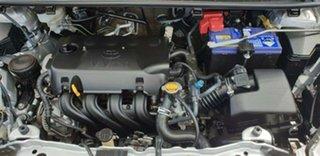 2012 Toyota Yaris NCP130R YR Silver 5 Speed Manual Hatchback.