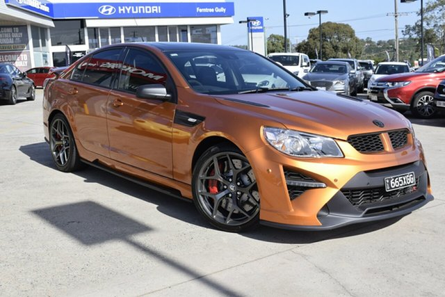 Used Holden Special Vehicles GTS Gen-F2 MY17 R, 2017 Holden Special Vehicles GTS Gen-F2 MY17 R Orange 6 Speed Manual Sedan