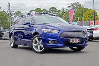 2017 Ford Mondeo MD 2017.50MY Trend PwrShift Blue 6 Speed Sports Automatic Dual Clutch Wagon.