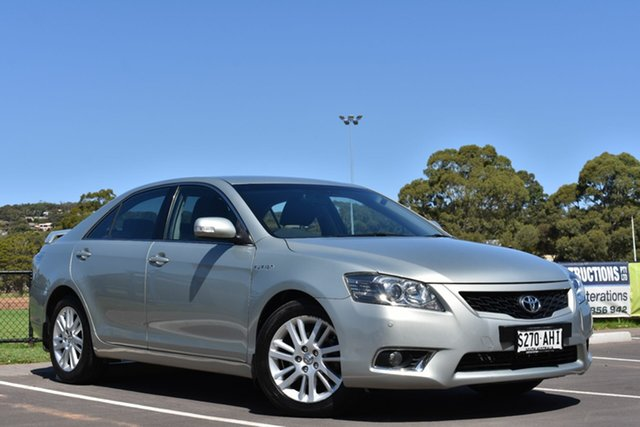 Used Toyota Aurion GSV40R MY10 Touring, 2010 Toyota Aurion GSV40R MY10 Touring Silver 6 Speed Sports Automatic Sedan
