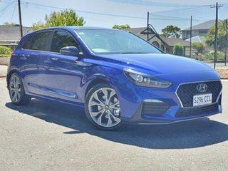 2019 Hyundai i30 PD.3 MY19 N Line D-CT Premium Intense Blue 7 Speed Sports Automatic Dual Clutch.
