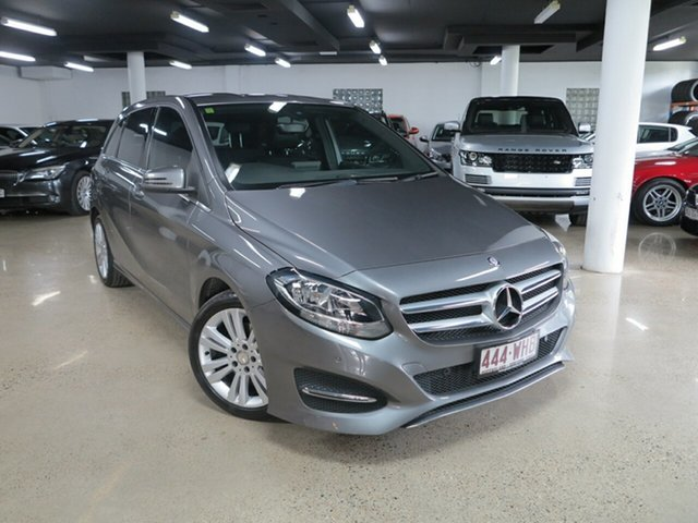 Used Mercedes-Benz B-Class W246 806MY B180 DCT, 2016 Mercedes-Benz B-Class W246 806MY B180 DCT Grey 7 Speed Sports Automatic Dual Clutch Hatchback