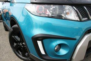 2018 Suzuki Vitara LY S Turbo 2WD Turquoise 6 Speed Sports Automatic Wagon.