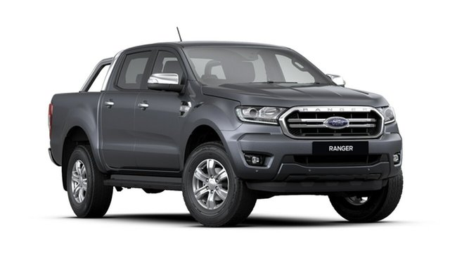 New Ford Ranger PX MkIII 2020.25MY XLT Pick-up Double Cab, 2019 Ford Ranger PX MkIII 2020.25MY XLT Pick-up Double Cab Meteor Grey 6 Speed Sports Automatic