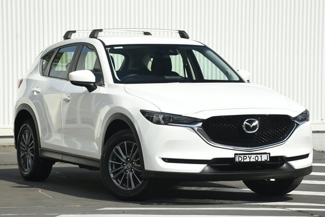 Used Mazda CX-5 KF4WLA Maxx SKYACTIV-Drive i-ACTIV AWD, 2017 Mazda CX-5 KF4WLA Maxx SKYACTIV-Drive i-ACTIV AWD White 6 Speed Sports Automatic Wagon