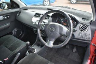 2010 Suzuki Swift RS415 RE4 Red/Black 5 Speed Manual Hatchback