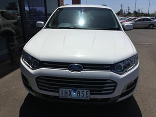 2014 Ford Territory SZ MK2 TX (4x4) White 6 Speed Automatic Wagon.
