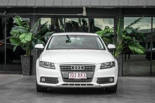 2012 Audi A4 B8 8K MY12 Multitronic White 8 Speed Constant Variable Sedan.