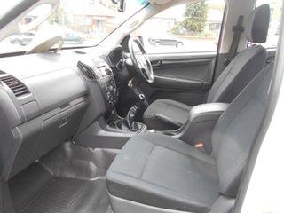 2015 Isuzu D-MAX TF MY15 SX (4x4) White 5 Speed Manual Crew Cab Chassis