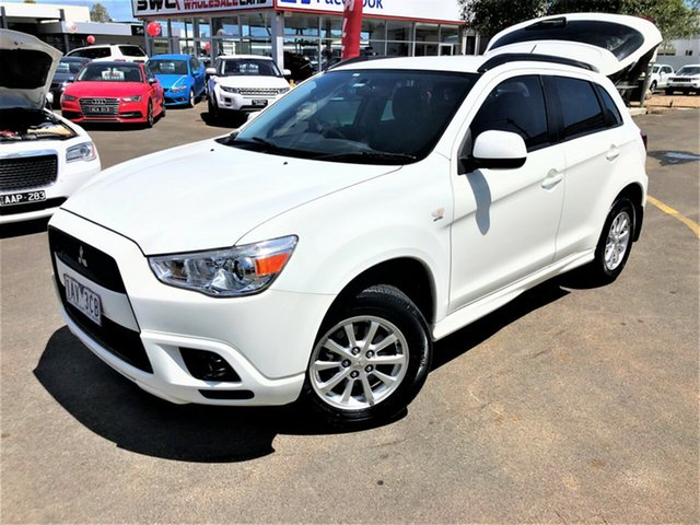 Used Mitsubishi ASX XA MY12 Activ 2WD, 2012 Mitsubishi ASX XA MY12 Activ 2WD White 6 Speed Constant Variable Wagon