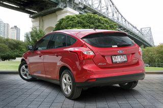 2013 Ford Focus LW MkII Trend PwrShift Burgundy 6 Speed Sports Automatic Dual Clutch Hatchback.