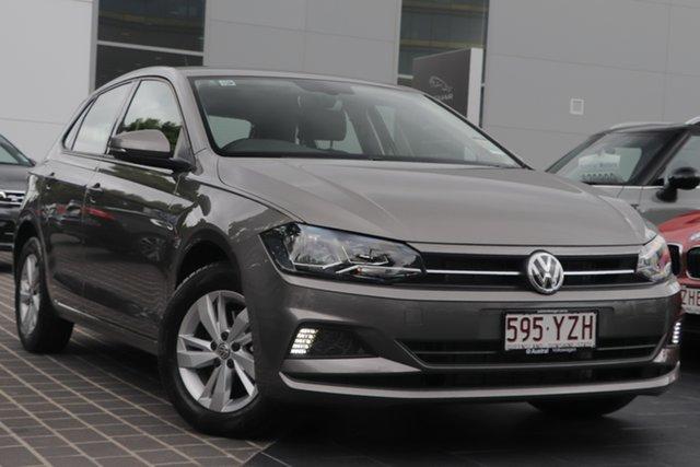 Demo Volkswagen Polo AW MY19 85TSI DSG Comfortline, 2019 Volkswagen Polo AW MY19 85TSI DSG Comfortline Limestone Grey 7 Speed