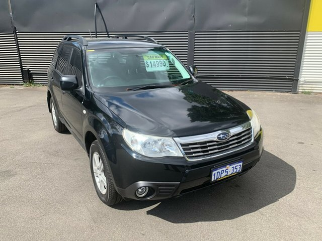 Used Subaru Forester S3 MY11 XS AWD, 2011 Subaru Forester S3 MY11 XS AWD Black 4 Speed Sports Automatic Wagon