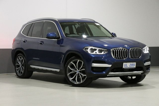 Used BMW X3 G01 MY18.5 xDrive30I, 2018 BMW X3 G01 MY18.5 xDrive30I Blue 8 Speed Automatic Wagon